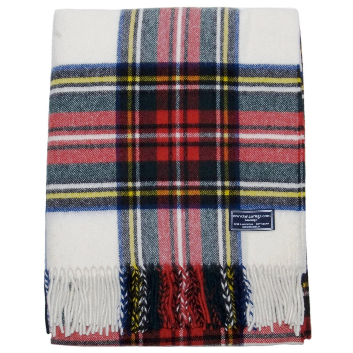 Bronte Dress Tartan Lambswool Travel Rug
