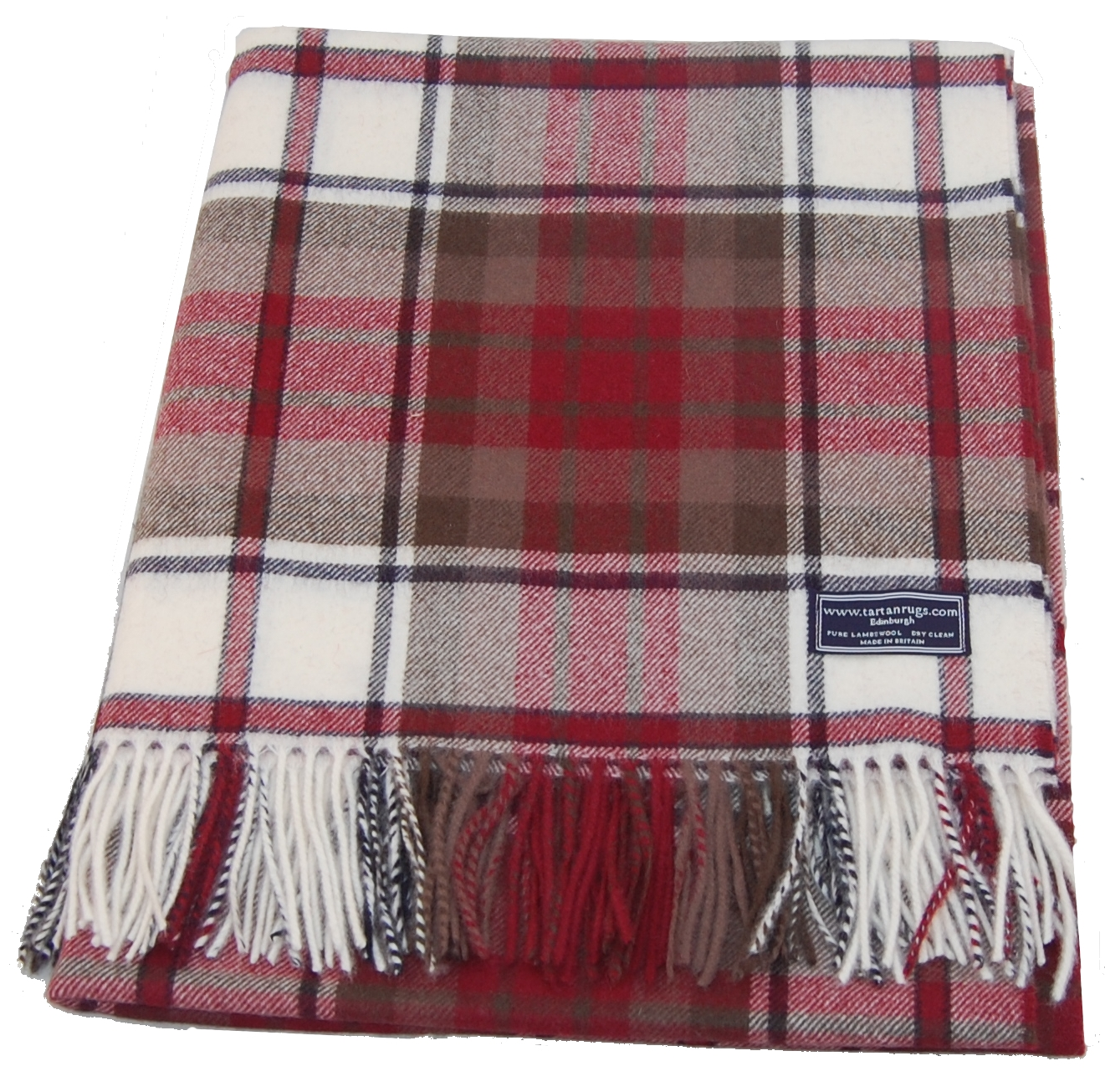 Bronte Dress Macduff Tartan Lambswool Travel Rug