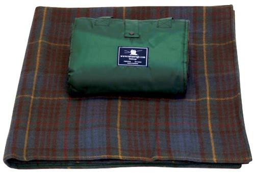 Antique Hunting Stewart Tartan Waterproof Picnic Rug