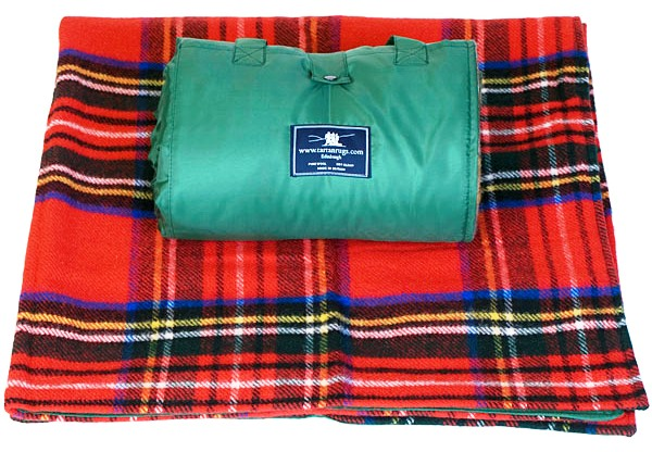Royal Stewart Tartan Waterproof Picnic Rug