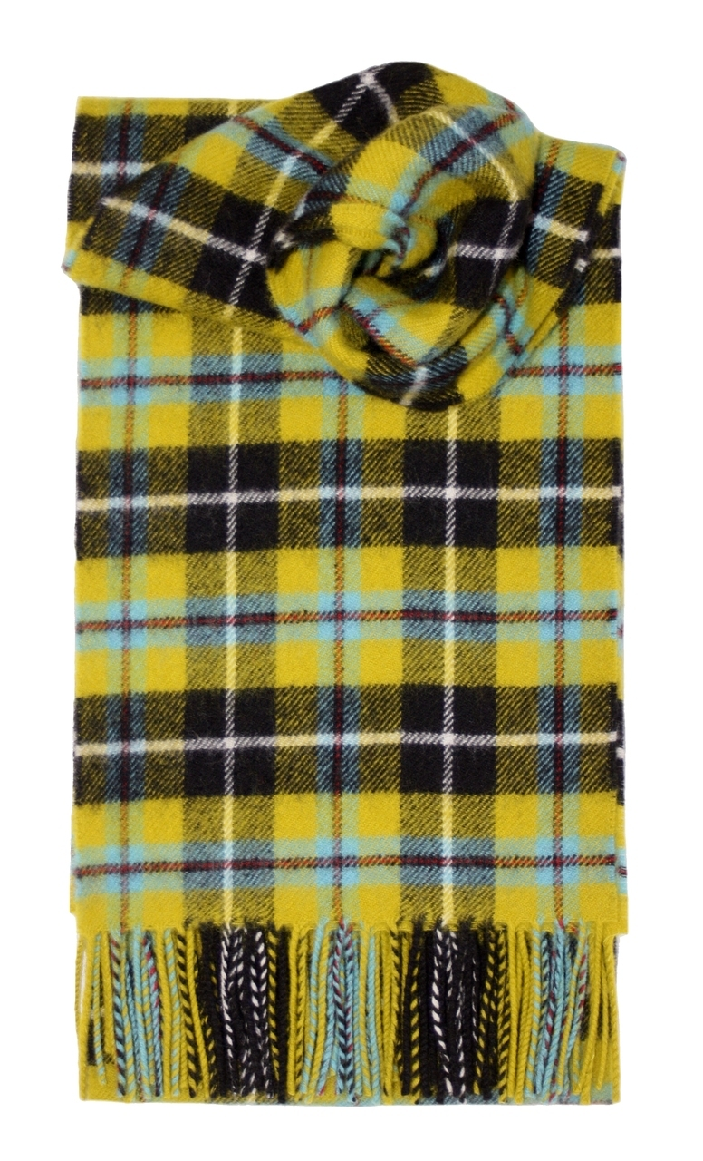 Lochcarron Cornish National Tartan Lambswool Scarf