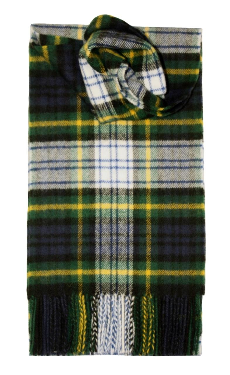Lochcarron Dress Gordon Tartan Lambswool Scarf