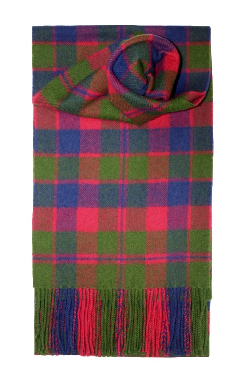 Lochcarron Glasgow Tartan Lambswool Scarf