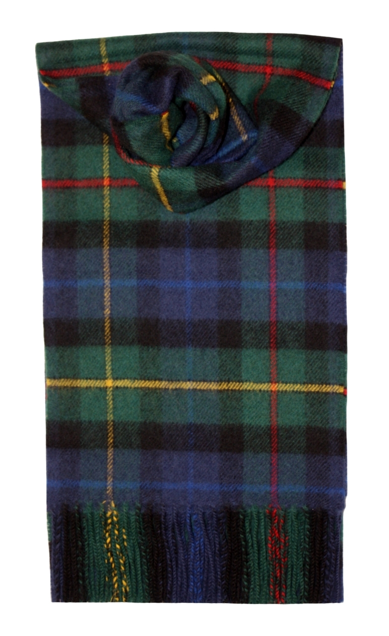 Lochcarron Smith Tartan Lambswool Scarf