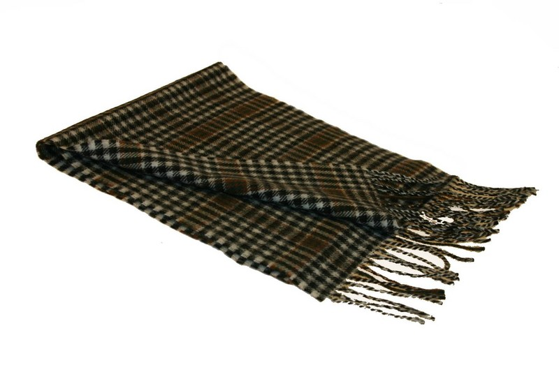Lochcarron Burns Check Tartan Lambswool Scarf