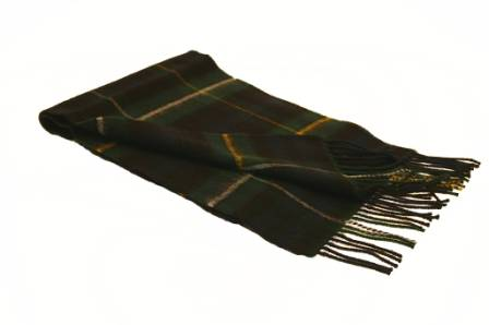 Lochcarron Campbell of Argyll Tartan Lambswool Scarf
