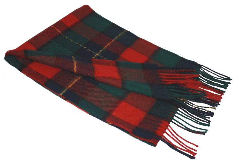 Lochcarron Kilgour Tartan Lambswool Scarf