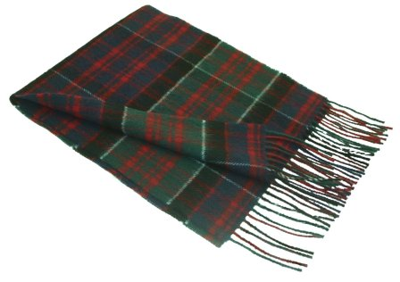 Lochcarron MacDonald of Clanranald Tartan Lambswool Scarf