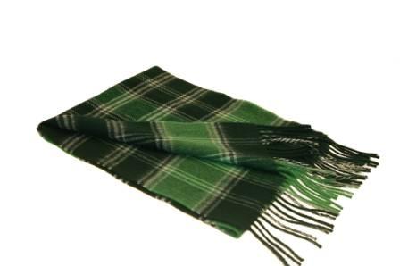 Lochcarron Ancient MacDonald Lord of the Isles Tartan Lambswool Scarf