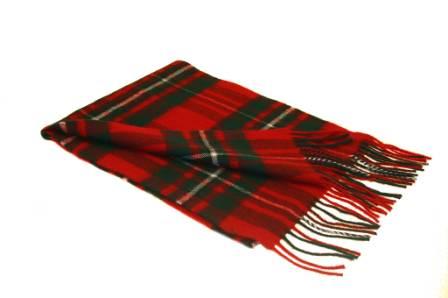 Lochcarron Macgregor Tartan Lambswool Scarf