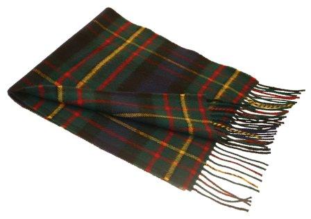 Lochcarron MacLaren Tartan Lambswool Scarf