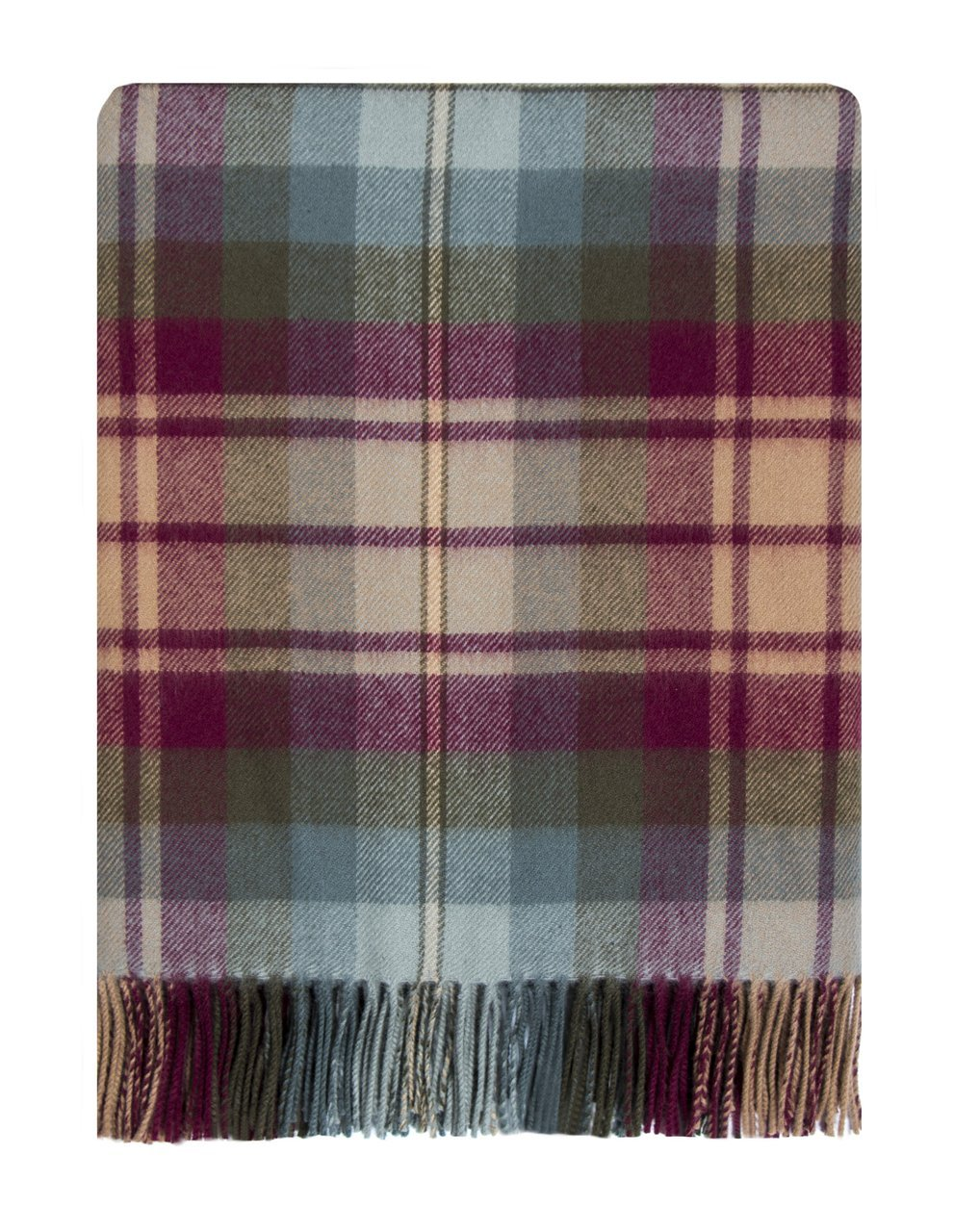 Lochcarron Auld Scotland Lambswool Travel Rug