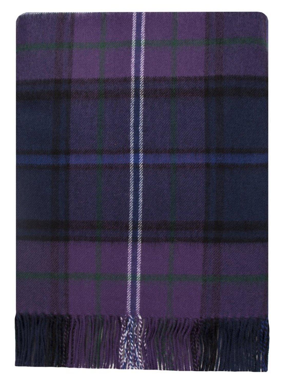 Scotland Forever Tartan Lambswool Travel Rug